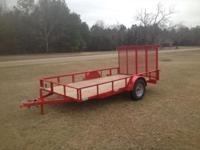 For sale is a brand new 6x12 utility trailer. It has