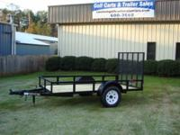 Brand new 6x12 Heavy Duty utility trailer HD angle iron