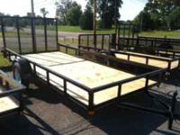 For Sale 77''x 14' New Utility Trailer! Single axle