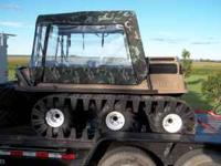 This a Max IV 6x6 Amphibious vehicle Its a 2008 its in