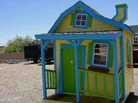 Is it crooked or is it me ? 6X8 playhouse with value in