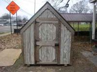 6x8 playhouse w/2 windows and loft, $650.00. Delivery