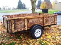 Cargo trailer. Use for moving, hauling anything, ready