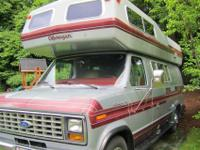 1987 Ford Camper Van - Okanagan Interior components