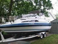 1988 24' Bayliner Boat &Trailer with rebuilt