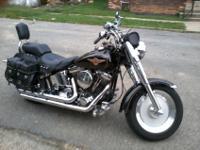 1995 Harley Davidson for sale. Part of Fiance's estate