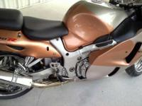 For sale a First Edition 1999 Suzuki 1300 Hayabusa