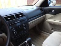 2008 White Ford Fusion SE with tan interior2.3L I4