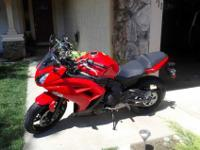 I am selling my kawaski ninja 2012 650cc brand new for