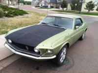 I am selling my 1969 Ford Mustang GT Coupe with the