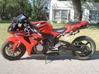 2006 Honda CBR 1000 RR, stretched 10 inches, stage 3