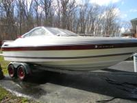 1988 21ft Bayliner Capri open bow..Redone from front to