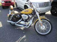 A TRADE-IN 2006 HARLY DAVISON SPORTSTER 1200 CUSTOM,