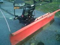 7 1/2' Boss Snow Plow. It is in good condition only the