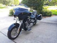This is the Retro model 2006 VTX 1300 (1312cc) V Twin