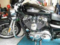 2009 XL1200L HARLEY DAVIDSON WITH ONLY 9,000 miS. THIS