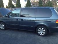 We are selling a 2004 Honda Odyssey EX-L with leather
