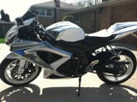 Im selling my 2008 GSXR. This bike stands out from all