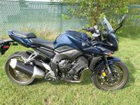 "2009 Yamaha FZ1, blue, stock #9-7226, $7,440""The 2009"