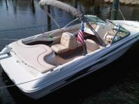 Great boat for family fun -- skiing, tubing, and