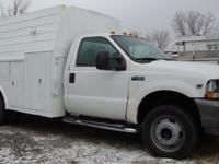 FOR SALE IS A 2002 FORD 450 DRW SUPER DUTY SERVICE