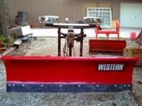 new western plow an tail gate salter all controls call
