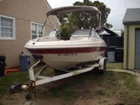 2000 Glastron Boat GX205 GL I/O. Only 155hrs. Seats 10