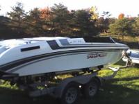 Boat - 1987 Taylor SS with cover, 23 feet, hydraulic