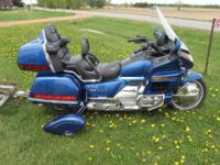 Has 64,542 miles.1500 ccThis Bike is a beautiful blue