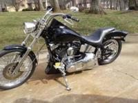 1996 Custom Softail built by Greensboro Harley