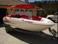 Have a 98 exciter 270 for sale. Real nice boat. Full