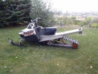 2008 M1000 Snowmobile Arctic Cat Boondocker Race Gas