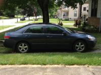Fun driving 2004 accord. Very comfortable cabin with