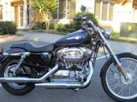 Gorgeous 2009 Harley Davidson XL-1200C Sportster with