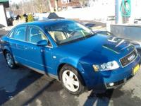 Im selling my Pearl Blue Denim Audi A4 Quattro 3.0It