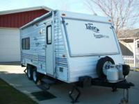 2000 18ft Toy hauler..New Tires,New Electric Brakes,