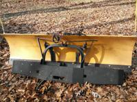 7 and a half foot Meyers plow. Includes wiring for
