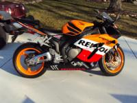 I am selling my 2005 Honda CBR 1000 Repsol Edition that