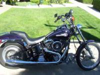 I have for sale my 1995 Harley Davidson FXSTC custom