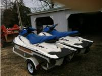 (2) 2004 Sea Doo GTI Waverunner PWC(2) 2004 Sea Doo GTI