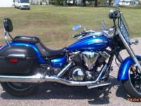 I currently have a 2012 Yamaha V Star 950 Touring for