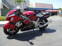 This is a beautiful 2006 Suzuki Hayabusa , this bike is