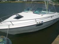 1993 chaparral 2250sl cuddy cabin, 22 ft 7 in. , 8 ft.