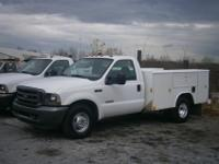 2003 Ford F350XL Super Duty utility/service truck,