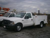 2004 Ford F350XL Super Duty utility / service truck,