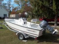 2009 16cc Cape Craft Middle console with upgraded 70