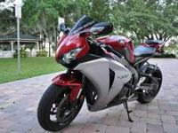 For sale is my beautiful Honda CBR1000 with only 7k