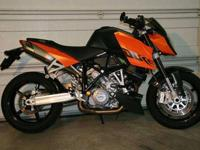 For sale is my 2007 KTM 990 Super Duke. I am the