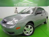 This 2006 Ford Focus 4dr SES ZX4 Sedan features a 2.0L