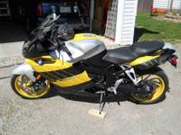 06 BMW K1200S WITH ABS, ELECTRONIC SUSPENSION